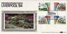Benham BLS Series FDC Liverpool Garden Festival SHS Abbey National and logo 1984