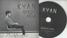 KYAN Remote View 2014 UK 4-track promo test CD