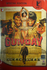 GUNDAY SPECIAL EDITION 2 DISC SET YESH RAJ FILMS ORIGINAL BOLLYWOOD DVD