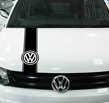 VW Transporter strisce da Cofano Adesivo Decalcomania t4 t5 t6 Caddy Van GOLF grafica