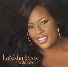 LaKISHA JONES So Glad CD I'm Me American Idol w/ Mike WINANS 2009 USA SELLER