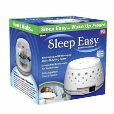 Sleep Easy Sound Conditioner, White Noise Machine, Baby Therapy, GREAT VALUE