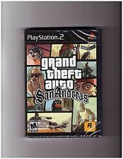 Grand Theft Auto: San Andreas (Playstation 2 PS2 GTA Rockstar Action) Brand NEW