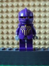 Lego Minifig ~ Knight Danju ~ From Castle Knights Kingdom II Armor Purple #xc45
