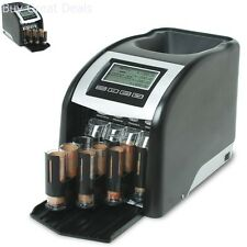 Money Coin Sorter Counter Counting Machine Sorting Bank Cash Business Quality