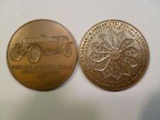 1968 Porsche Christophorus Calendar Coin Münze RARE!! Awesome L@@K