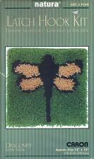 "Natura Caron Latch Hook Kit #P544 Dragonfly New 12"" x 12"""