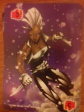 Marvel Overpower Monumental Fighting Level 3 Storm X2 Power Card Mint