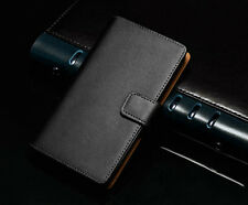 Luxury Genuine Real Leather Flip Wallet Case Cover For LG Google Nexus 4 E960