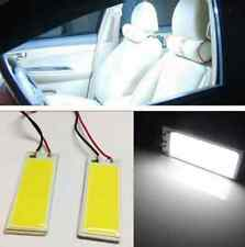 2pcs Xenon HID White 36 COB 12V LED Dome Map Light Bulb Car Interior Panel Lamp