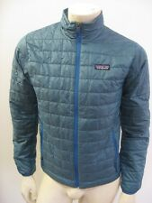 NWT PATAGONIA Men's NANO PUFF JACKET Crater Blue Special Edition Size XS
