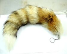 Large Fox Fur Tail Keychain Tassel Bag Tag Charm Handbag Pendant Accessory PA_1