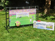 Fußball Torwand Trainingswand Soccer Wall Indoor & Outdoor Torwand mit Ball
