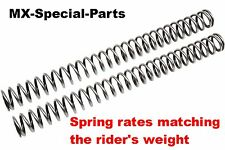 HONDA CRF 250 R # FORK SPRINGS with matching SPRING RATE for the driver  select!