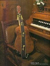 1970s Music Note Guitar Strap Pattern - Craft Book: # Mac800 Macrame by the Bay
