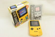 GAME BOY COLOR Yellow Console Boxed CGB-001 Nintendo Gameboy Japan Ref/1924 gb