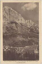 BORCA DI CADORE VERSO IL MASSICCIO DELL'ANTELAO (BELLUNO) 1928