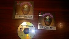 SONY PLAYSTATION PS1 - ODDWORLD ODDYSEE BOXED #G15