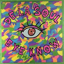 De La Soul - Eye Know / The Mack Daddy On The Left - Big Life Records BLR13T Ex+