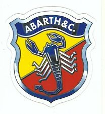 FIAT ABARTH EMBLEM Sticker Decal