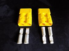 2 PCS ANDERSON POWER CONNECTORS SB175 1 GAUGE AWG BATTERY QUICK DISCONNECT