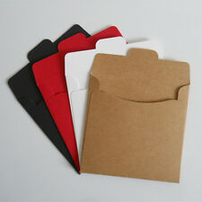 20Pcs Kraft Paper CD DVD Sleeve Envelopes Discs CDR CD Flap Packaging Bags Case