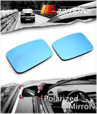 Replacement Polarized Side Door View Blue Mirror Len Set for Honda CR-Z CR Z CRZ