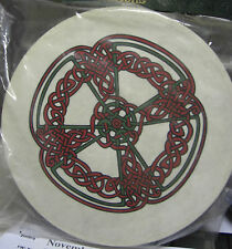 "Irish MUSIC 15"" KNOTWORK Waltons Bodhran Drum Beater 4 Items"