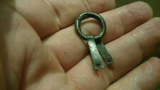 BELLA RARA VIKING solido argento anello ciondolo Nizza INDOSSABILE elemento punto 3.70 G