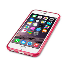 Original Apple iPhone 6 & 6S Micro Case Flexible Gel TPU Cover Ultra-Slim Pink