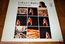 RARE ESTHER OFARIM  LP - Israeli Songs - Capitol ST 10486 - Recorded in Israel