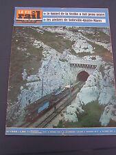 Vie du rail 1972 1340 PAS DES LANCIERS L'ESTAQUE SOTTEVILLE QUATRE MARES ARRAS