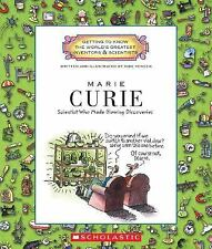 Marie Curie: Scientist Who Made Glowing Discoveries (Getting to Know t-ExLibrary
