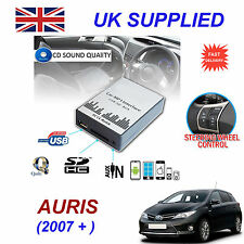 Toyota AURIS MP3 SD USB CD AUX Input Audio Adapter Digital CD Changer Module