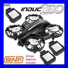 BLADE INDUCTRIX FPV 200 BNF BIND AND FLY RACING QUAD QUADCOPTER + 3X BATTERY !!