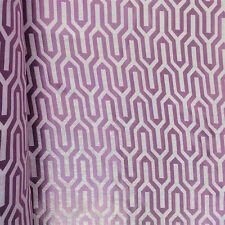"""Lilac Damask Velvet Jacquard Brocade Fabric 118"""" Wide By the Yard (916-4)"""