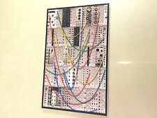 Eurorack / Euro Rack Modular Synth Synthesizer Fridge Magnet / Retro Wholesale