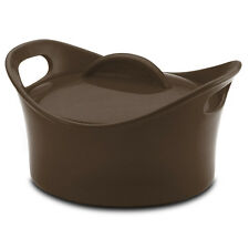 Rachael Ray Stoneware 2-3/4-Quart Covered Bubble & Brown Casserole Dish