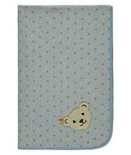 Alvi Babydecke Kuscheldecke Jersey Zootiere puderblau 75x100 cm 931799111