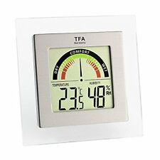 Hygrometer with Comfort Level Indicator Digital Thermo Hygrometer 30.5023