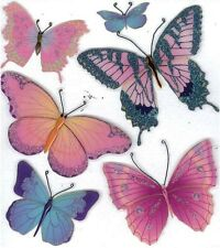 Jolee's BUTTERFLIES Stickers BUTTERFLY INSECTS
