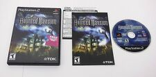 PS2 Disney's The Haunted Mansion COMPLETE TESTED Playstation 2 3 FAST FREE SHIP