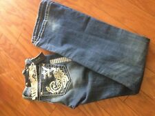 Miss Me  Embroidered Bootcut Jean JP5149 Size 26  NWT