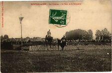 CPA Montier en Der - Les Courses - Le Saut de la Banquette (270342)