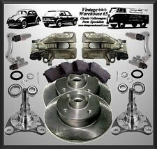 Volkswagen Golf Mk2 G60 20v Turbo 226mm Rear Brake Disc Conversion Upgrade Kit