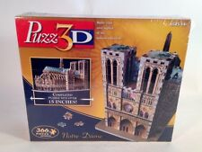 NEW PUZZ 3D JIGSAW PUZZLE NOTRE DAME GOTHIC CATHEDRAL 366 PCS