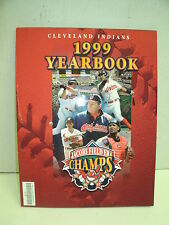 1999 Cleveland Indians Yearbook---Thome---Manny 80 pages colorful