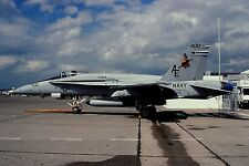 Original colour slide F/A-18C Hornet 162848/AE-400 of VFA-137 US Navy