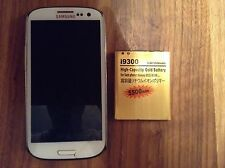 Used 5500mAh Extended Life Battery for Samsung Galaxy S3 I9300 SIII