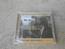 JIM MORRISON-THE DOORS-STONED BUT ARTICULATE II- CDIMP-UK-FACTORY SEALED-NEW!